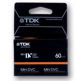 Mini Dv Cassettes Professional Pack X 10 Uni. Tdk ¡novedad!