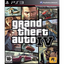 Grand Theft Auto Iv + Red Dead Redemption Mídia Digital-ps3