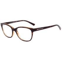 Armani Exchange Ax 3037 L - Óculos De Grau 8037 Marrom
