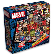 Rompecabezas 1000 Piezas Funko Marvel + Figura Pocket Pop!