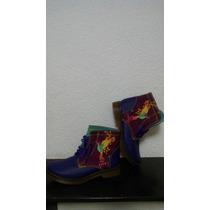 Geniales Botas Para Chicas, De Colores, Con Diseño Original.