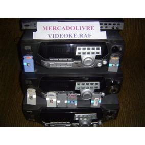 Videoke Raf C/ 2860 Canções Modelo 3700 .2 Microfones Novos.
