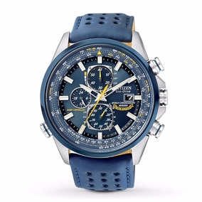 Relógio Masculino Citizen Eco-drive Blue Angels - At8020-03l