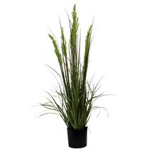 Macetero Morph Planta Artificial 7 Flores Verdes