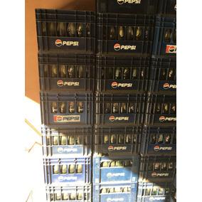 Cajones Con Envases De Pepsi De 350cc