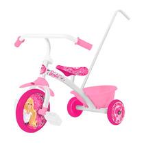 Triciclo Infantil Con Manija Chicos Nena Barbie