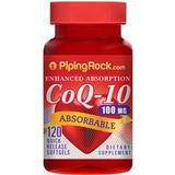 Coenzima Q10(coq10) - 100mgx120softgels Usa Maxima Absorcion
