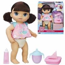 Boneca Baby Alive Fraldinha Mágica Morena Original Hasbro