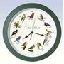 Audubon Canto Del Pájaro Del Reloj - 13 \verde