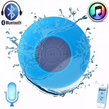Caixa De Som Bluetooh Caixinha Prova De Agua Ventosa Banheir
