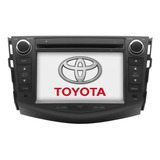 Estereo Pantalla Toyota Rav4 Navegador Gps Usb Dvd Bluetooht