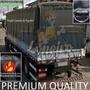 Lona Premium Caminhão Lonil Anti-chamas Emborrachado 9x5 M