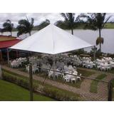 Tenda Piramidal 5x5 Com Calha A1tendas - Evento Praia Toldo