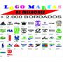 2mil Logo Marcas Matrizes De Bordados - Adidas, Nike, Rebook