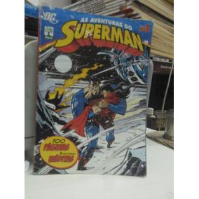 Gibi - As Aventuras Do Superman N° 5 100 Páginas 5 Histórias