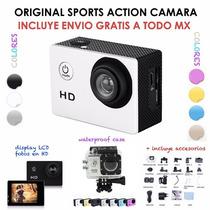 Camara Sumergible Action Sport Cam Full Hd Para Foto Y Video
