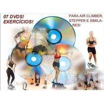 7 Dvds/exercícios Turbinados/air Climber, Stepper, Similares