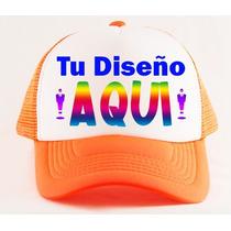 Gorras Personalizadas Trucker Malla Frases Fiestas Imagenes
