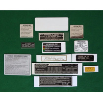 Adesivos Advertencia Honda Cbx 750 89 Originais Canadense