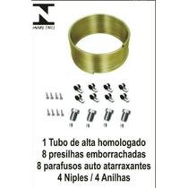 Kit Tubo Gnv + Niples + Anilhas + Fixadores + Parafusos