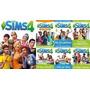 Juego Los Sims4 Con Todas Sus Expasiones 2015