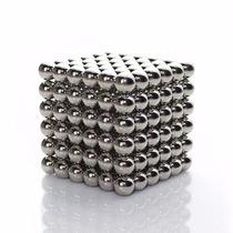 Neocube Prata Magnético 216 Esferas Buckyballs Imã Neodímio