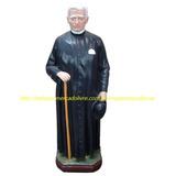 Escultura Santo Padre Cicero Imagem 30cm Estatua Gesso