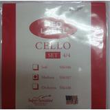 Set De Cuerdas Para Violoncello Marca Red Label