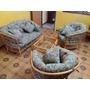 Juego De Sofas Bambu Sala Muebles