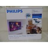 Kit 3d Philips Pta02 - 2 Óculos + Receptor + Atualização