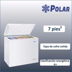Congelador Tapa De Cofre 7 Pies Cub Ch-7 Polar