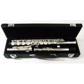 Lincoln Wind Flauta Traversa Bb Plata C/estuche Housemusic