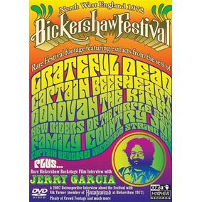Dvd Bickershaw Festival Jerry Garcia Importado Raro Original