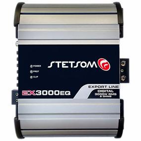 Módulo Amplificador Ex-3000 Eq Stetsom Até 3600w Rms 2k5