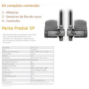 2 Kits Motores Portão Basculante Ppa Penta Predial 1/2 8s !!