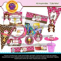Kit Imprimible Invitaciones Recuerdos Primera Comunion Nena