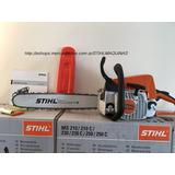 Motosierra Stihl Ms250 Nva Original + Aceite Stihl + Regalo
