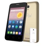Smartphone Celular Alcatel Pixi First 8mpx Dorado + 1cover