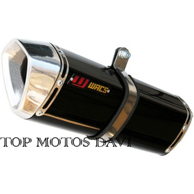 Escapamento Ponteira Wacs W1 P Honda Nx400 Falcon 06/08