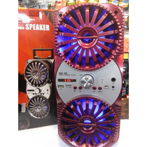 Reproductor Portatil Usb Sd Radio Fm Super Original Ms-95
