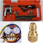Kit Ferramentas P/ Refrigeração: Flangeador , Manifold