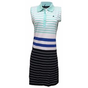 Vestido De Malha 100% Algodão Branco Verde Azul Preto Cod14