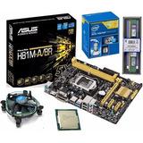 Kit Asus H81m-a/br + Dual Core G3250 3.1ghz + 4gb De Memoria
