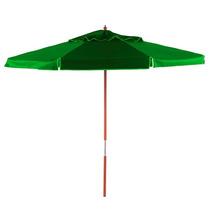 Ombrellone 2m Bagum Guarda Sol Piscina Tenda Verde 201603