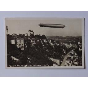2 Postais Zeppelin No Brasil Rio 1930