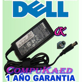 Cargador Dell 19.5v 3.34a / 4.62a 6 Mes Garantia Cable Poder