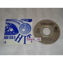 Daniela Romo Mulata Melody 1994 Cd Promo