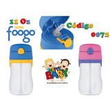 Happy Baby Thermos Foogo 11 Oz Con Pitillo