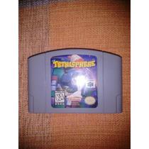 Fita/cartucho P/ Nintendo 64 Tetrisphere Original - Salvando