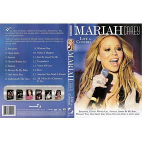 Dvd Mariah Carey -live In Concert (lacrado)